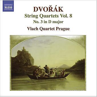 A. Dvorak - Dvor K: String Quartets, Vol. 3 [CD] USA import