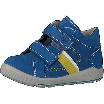 RICOSTA Goretex Double Velcro Short Boot In Cobalt
