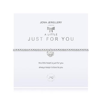 Joma Jewellery A Little Just For You Silver 17.5cm Stretch Bracelet 3209