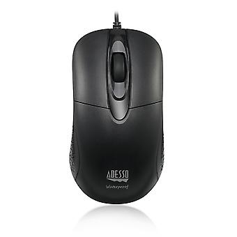 Adesso iMouse W4 | Vedenpitävä optinen hiiri | Langallinen internetyhteys