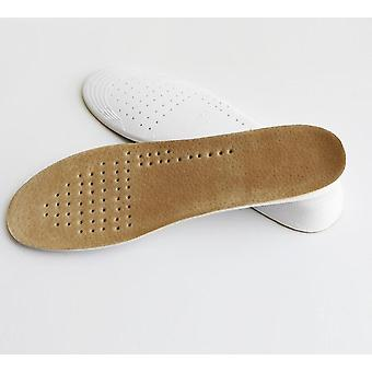 Footmaster Absorbent Ultra Thin Lambskin Leather Insoles With Breathable Shoe