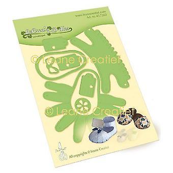 Lecrea - Leabilitie Baby Shoe - Slipper Cutting Die 45.7262