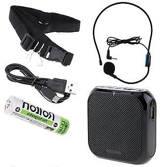 Haut-parleur microphone Megaphone portable d'amplificateur de voix