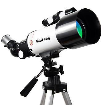 MaiFeng 16/40X HD Refractive Astronomical Telescope High Magnification Zoom Monocular