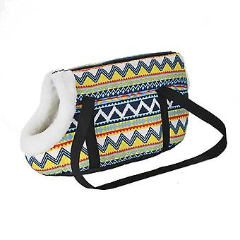 Classic Pet Carrier For Small Dogs, Cozy Soft Puppy,cat Bags