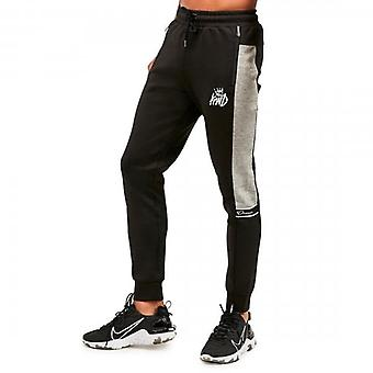 Kings Will Dream Tesi Black Grey Jersey Jog Bottoms