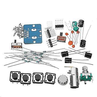 Diy digital oscilloscope unassembled kit with housing