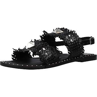 Cafenoir Sandals Frate In Pelle Int Couleur 001nero