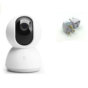 الذكية كام مهد رئيس الإصدار 1080p HD 360 درجة الرؤية الليلية