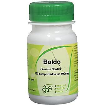 GHF Boldo 100 Tablets 500 mg