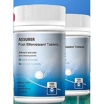 Swimming Pool Cleaning Tablets, Effervescent Tablets Disinfection Pills