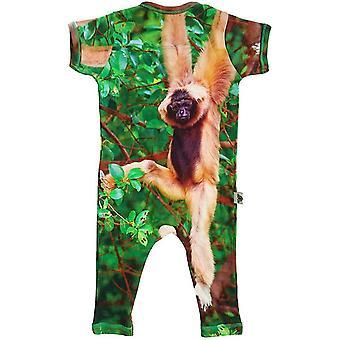Romper - Full Leg - Monkey