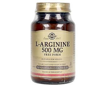 Solgar L-arginina 500 Mg 50 Psulas Vegetales Unisex