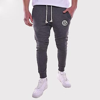 Men Slim Fit Tracksuit Jogger Sports Gym Bodybuilding Running Trouser