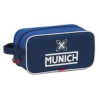 Rejser Slipper Holder München Blå Polyester Mørkeblå