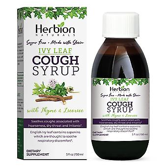 Herbion Naturals Ivy Leaf Syrup with Thyme - 5 fl oz