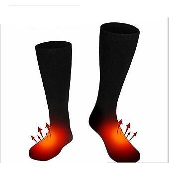 One Pair Electric Heated Socks