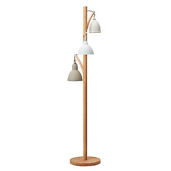 Vloerlamp compleet met Painted Shade, 3x E14