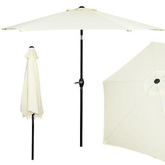 Garden umbrella foldable 260 cm - Yellow