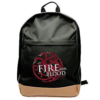 Game of Thrones - Backpack - Targaryen - Black (45x31x19 cm)