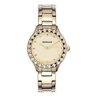 MORGAN Standard Women's Quartz Data Watch with Stainless Steel Strap MG 001-1EM