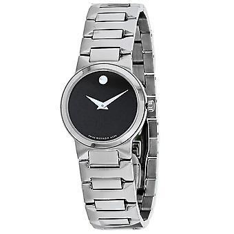 Movado Women's Ario Black Dial Watch - 607451