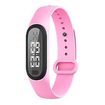 Bracelet anti-moustique électronique portable rose x3982