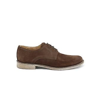 Duca di Morrone - Shoes - Lace-up shoes - O6D-CAMOSCIO-TDM - Men - saddlebrown - EU 43