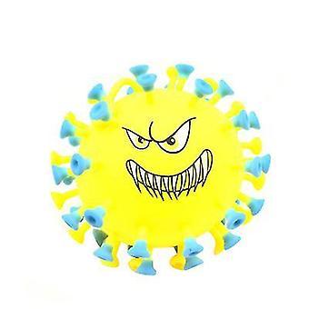 فيروس كورونا الأصفر الضغط على الإجهاد الكرة الإجهاد ليلة فلاش اللعب az4151