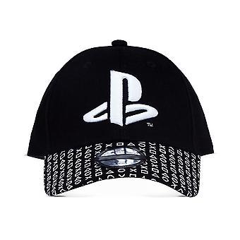 Sony - Logo Baseball Cap - Black/White