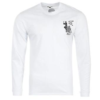Edwin Shinobi Long Sleeve T-Shirt - White