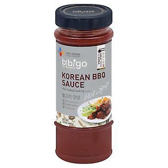 Bibigo Sauce Bbq Hot Spcy Korean, Case of 6 X 16.9 Oz