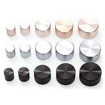 جديد 30x17x6 الفضة 8pcs الألومنيوم البلاستيك القوي مقبض البرقوق مقبض هيكل حجم الغطاء sm41978