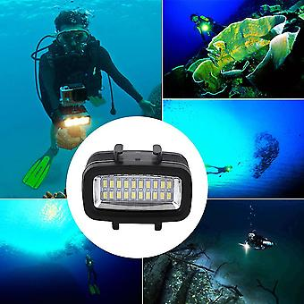 30m impermeable cámara de luz de vídeo submarina lámpara de buceo adecuado para Gopro