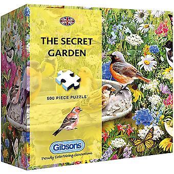 Gibsons The Secret Garden Jigsaw Puzzle en caja de regalo (500 piezas)
