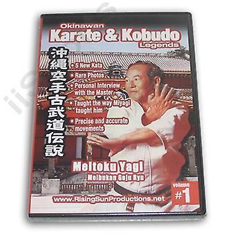 Karate kobudo de Okinawa #1 Dvd Meitoku Yagi Goju -Vd6958A