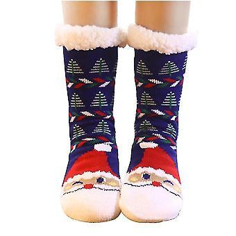2 Buc Socks iarna Fuzzy Slipper Socks Cald Fuzzy Socks, picior mai cald de Crăciun femeii De izolare