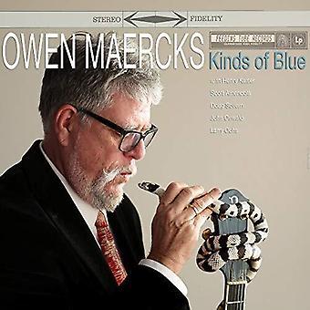 Maercks,Owen - Kinds Of Blue [Vinyl] USA import