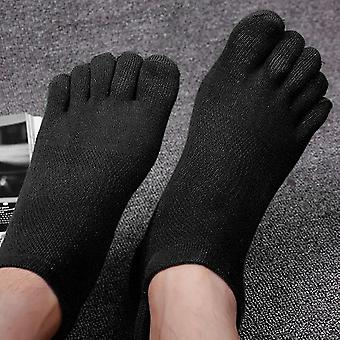 Spring Summer Cotton Thin Socks Breathable Mesh Male Brief Short Sports Socks