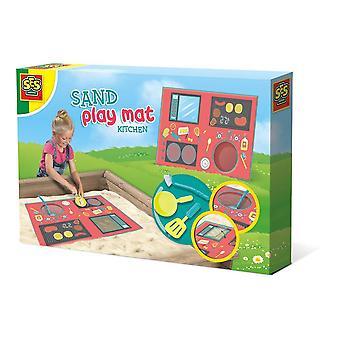 Tapis de jeu de sable de cuisine pour enfants