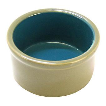 "Kaytee Ceramic Dish - 4"" Diameter"
