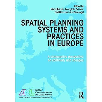 System och praxis för fysisk planering i Europa