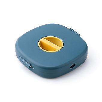 Niedliche Kopfhörerhülle Tragbarer Kopfhörer Data Line Box Aufbewahrung für Ladekabel Winder USB-Kabel