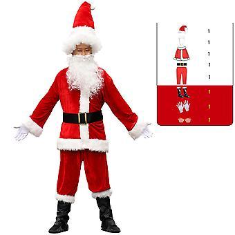Joulupukin puku Joulupuku Joulupuku Juhlapuku