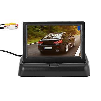 Auto-Rückfahrhilfe-Kit mit Klappmonitor + 4 LED Rückfahrkamera