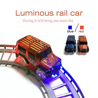 Led Light Up Auto Lelut Lapset Lapset Fancy Electronics Tracks Autolelu Paras lahja