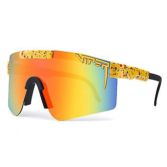 Pit-viper Uv400 Outdoor Movement Cycling Running Polarized Sunglasses For Men Women