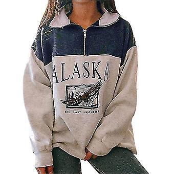 Women Christmas Sweatshirt Pullover Tops  Funny Long Sleeve T-shirts Xmas Holiday Casual Sweatshirt