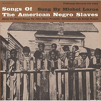 ミシェル ・ ラルー - アメリカの黒人奴隷 [CD] USA 輸入の歌