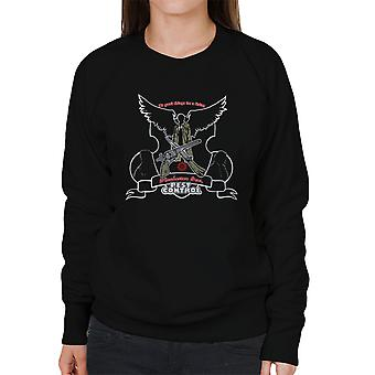 We Gank Things For A Living Winchester Bros Pest Control Supernatural Women's Sweatshirt